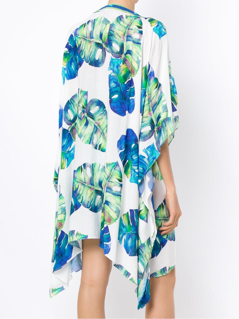 printed kaftan - Blue Brigitte Popular And Cheap 2018 Cheap Online Official Site For Sale Outlet View HJL9wzV