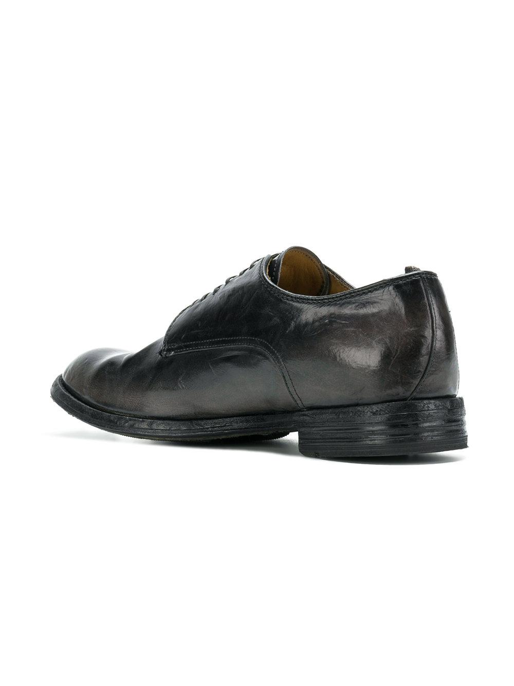 Officine Creative Leather Anatomia Lace-up Shoes in Black for Men