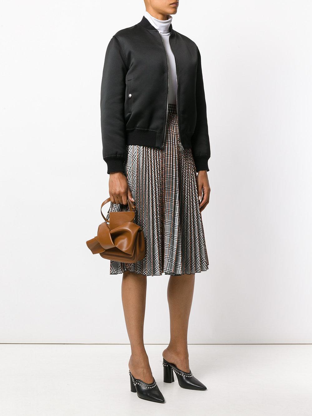N°21 Leather Twist Crossbody Bag in Brown