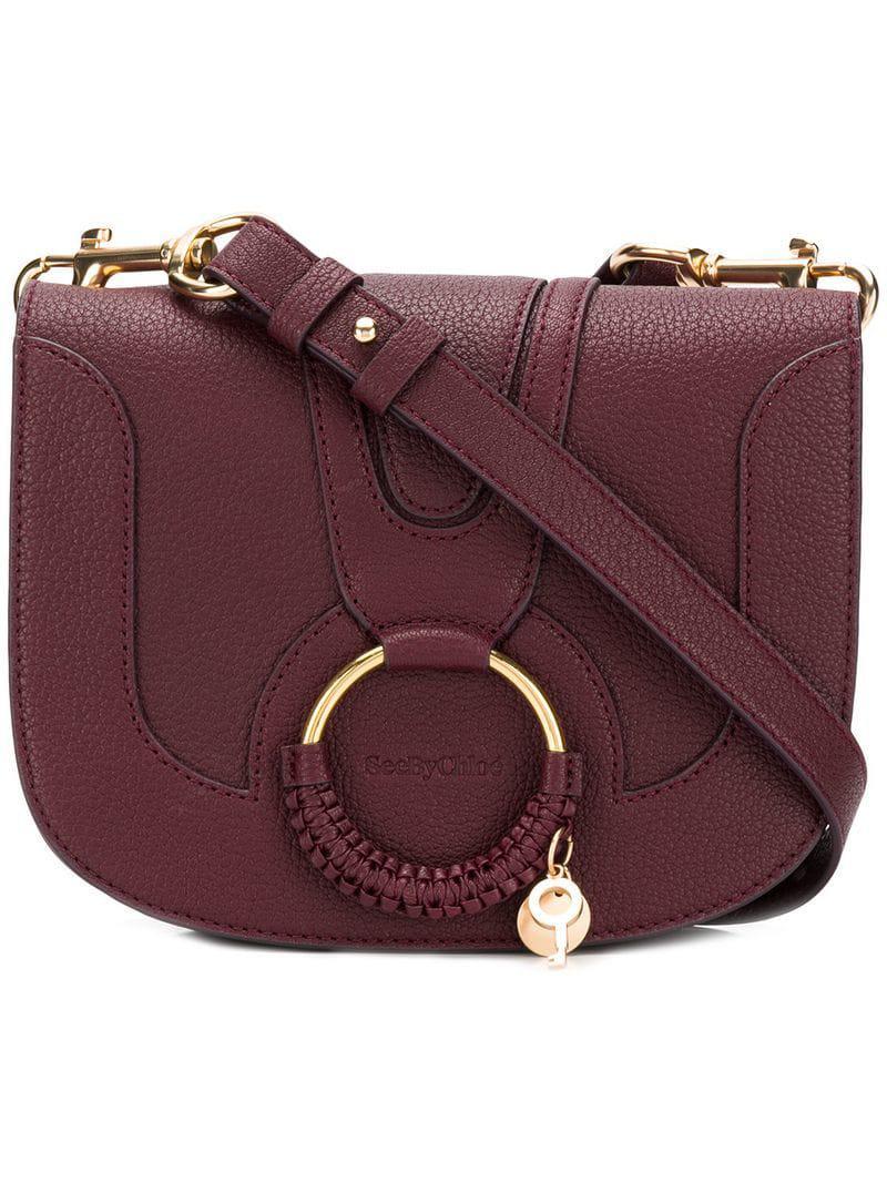 03804454 See By Chloé Hana Medium Crossbody Bag in Purple - Lyst