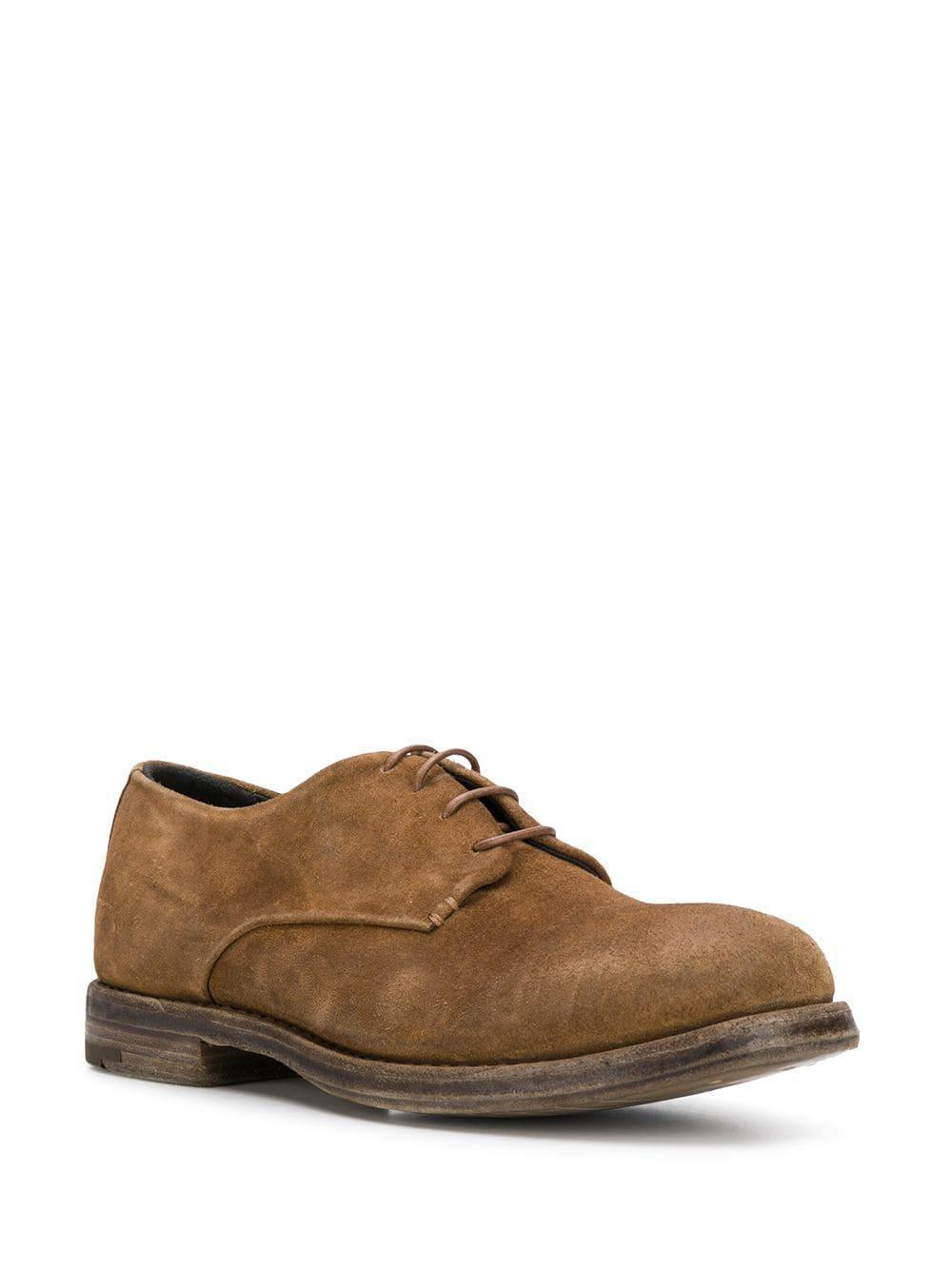 Zapatos derby con cordones Premiata de hombre de color Marrón