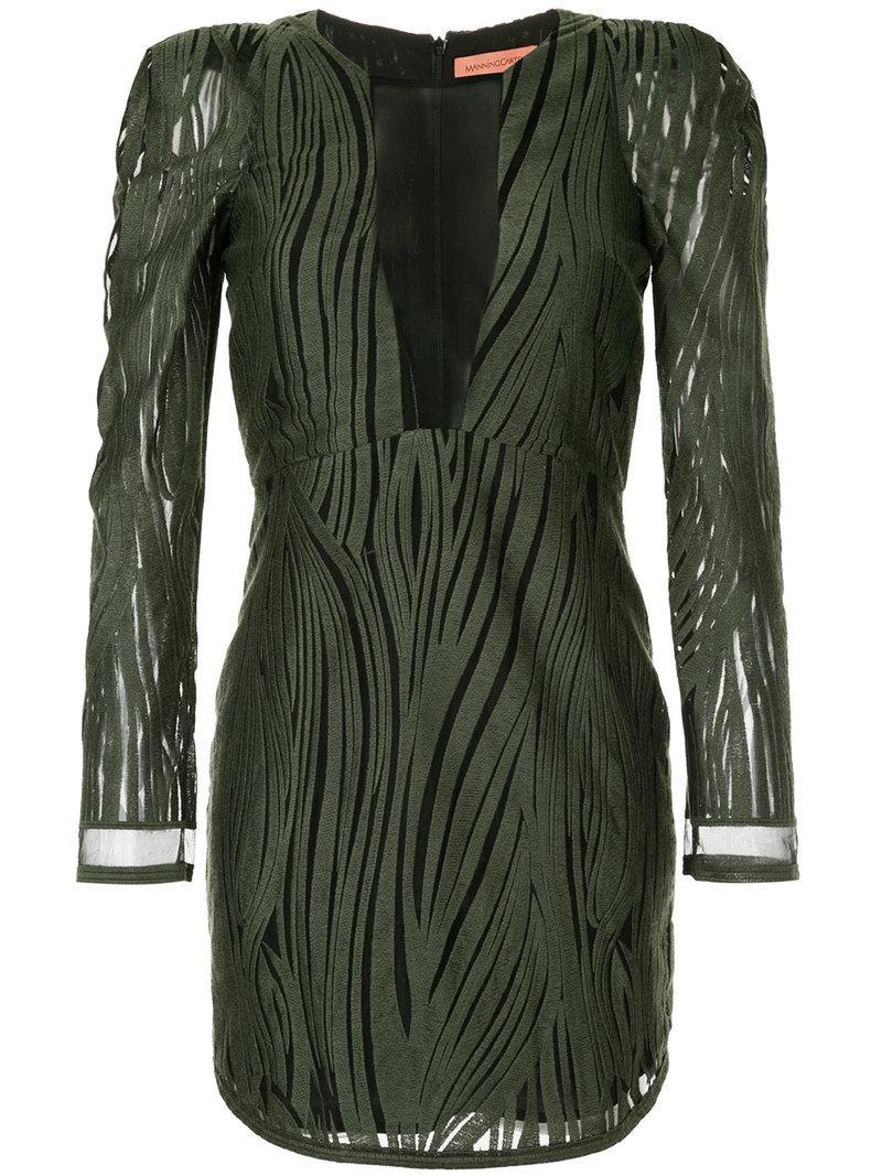 Manning Cartell Wild Mini Dress in Green - Lyst 617eb8cc3