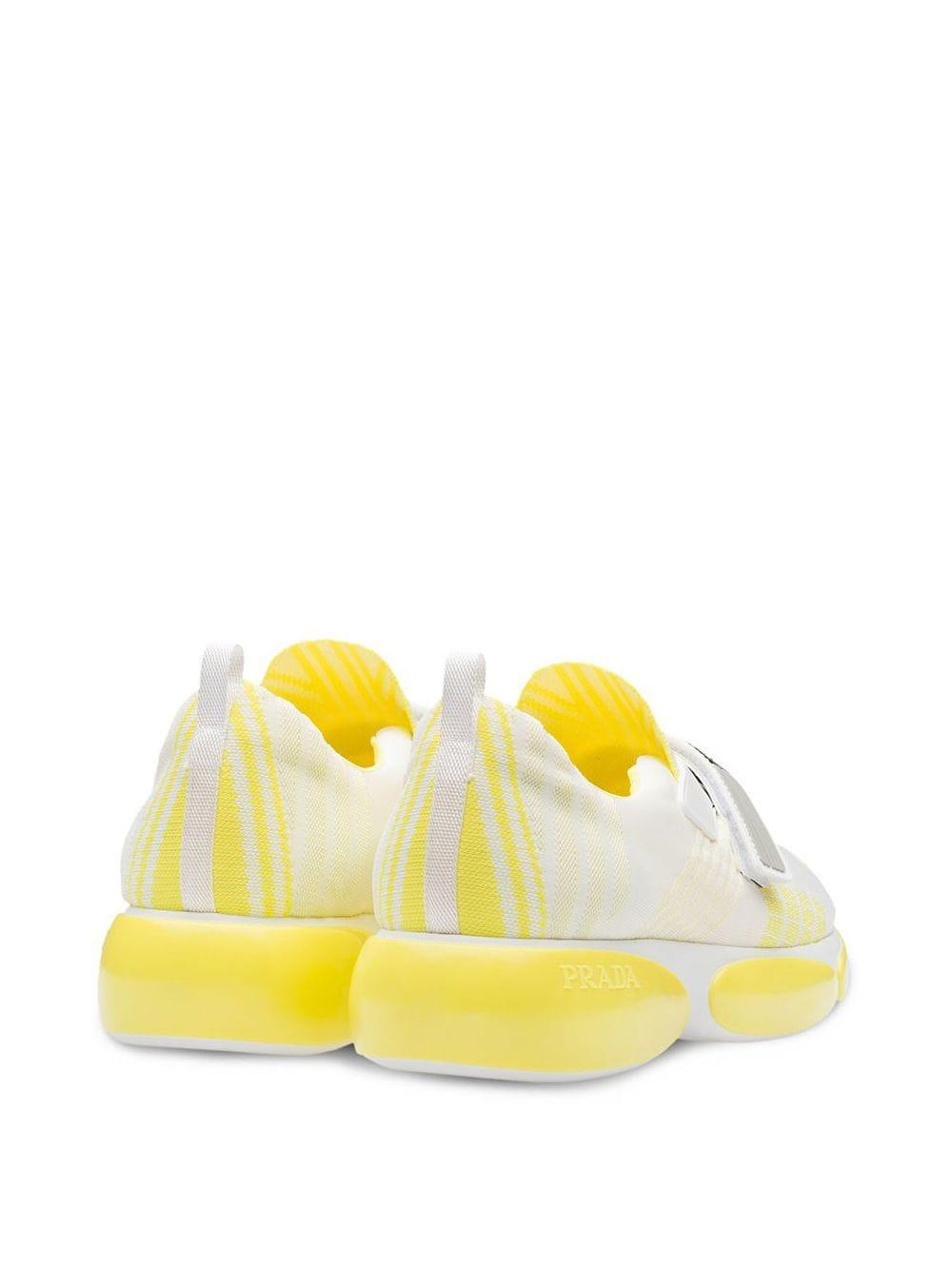 Baskets Cloudbust Néoprène Prada en coloris Blanc AlPU