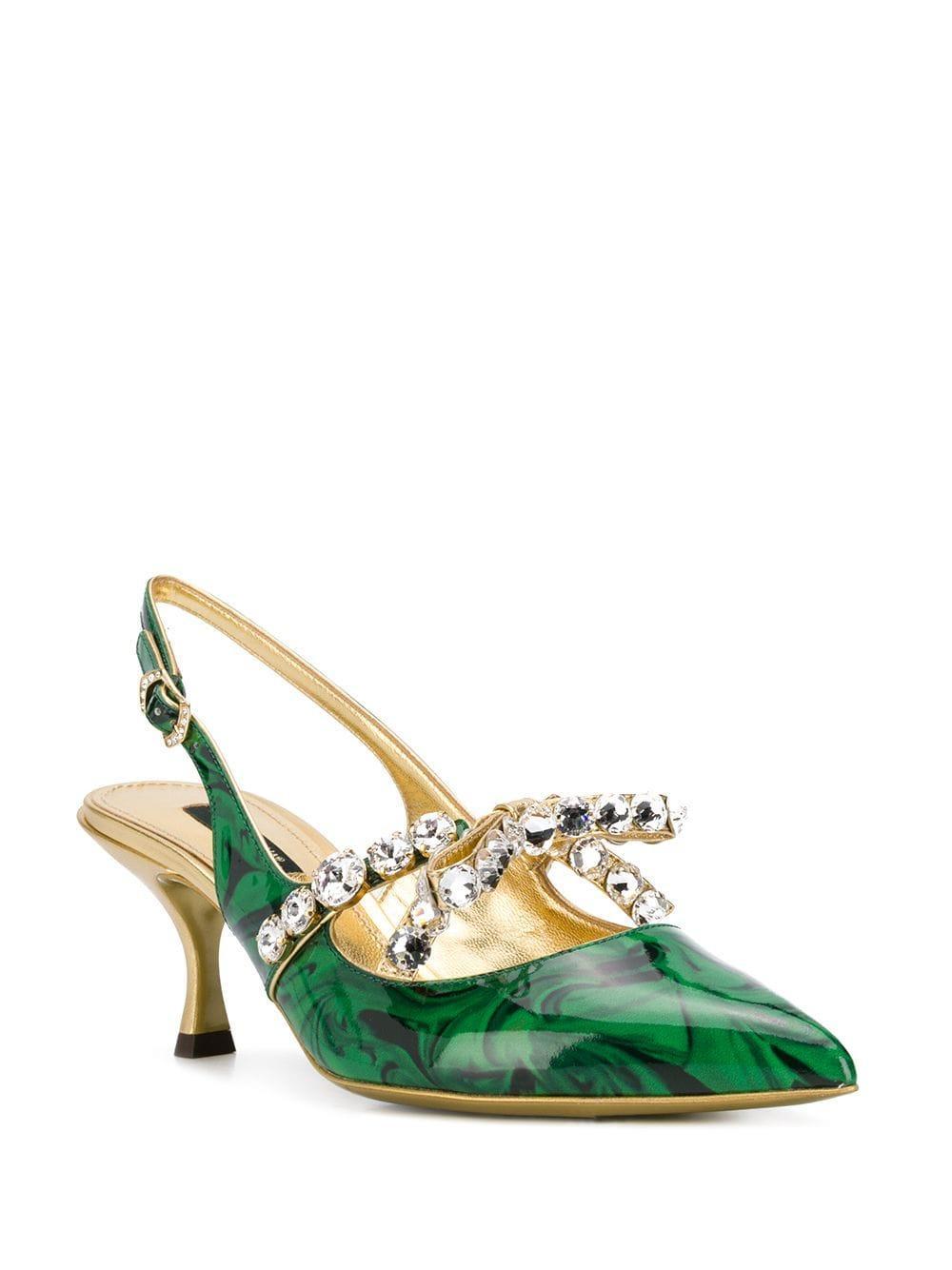 Sudadera con capucha Dolce & Gabbana de Cuero de color Verde