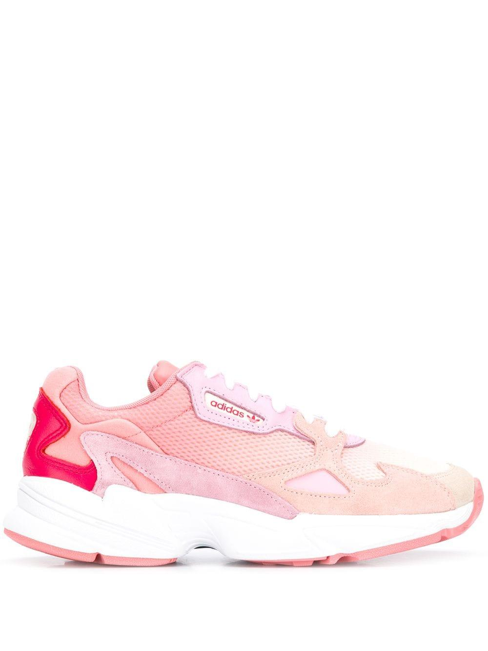 Zapatillas con paneles de malla adidas de Cuero de color Rosa: ahorra un 25 %