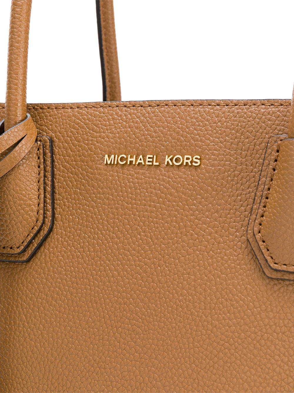 a2cd9ad61d0d8 Lyst - Michael Michael Kors Mercer Extra-large Tote in Brown