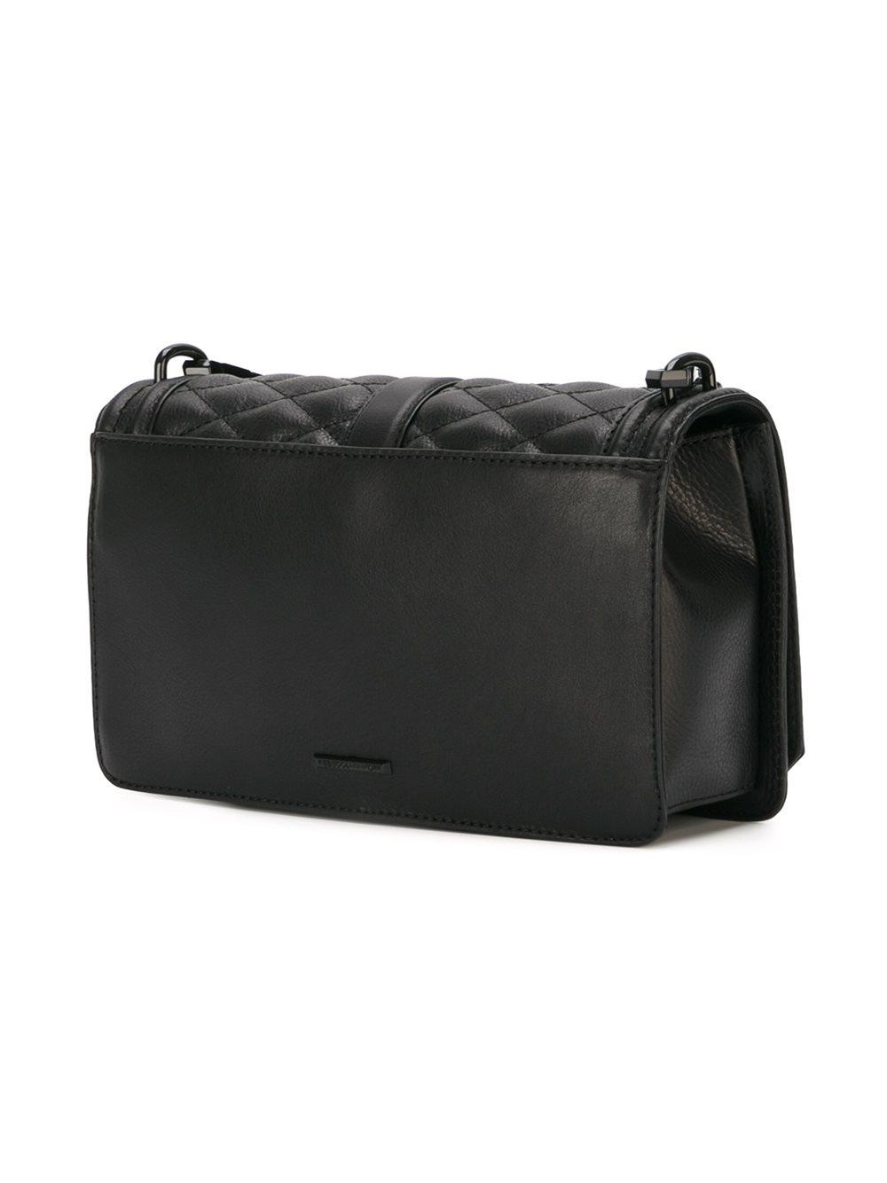 Rebecca Minkoff Love Quilted Crossbody Bag In Black Lyst