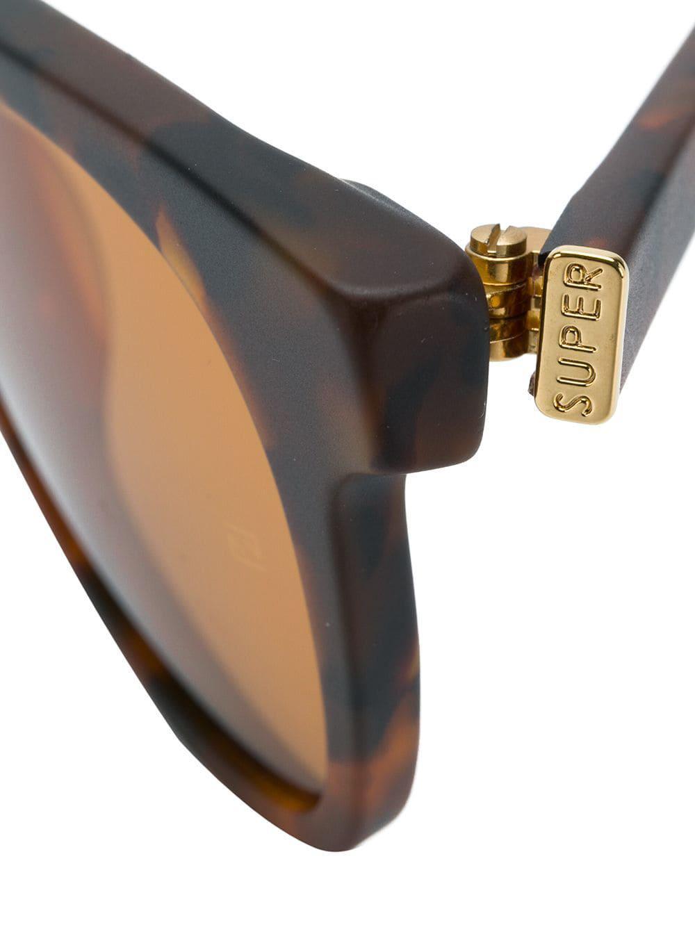 Retrosuperfuture Man Team Sunglasses in Brown