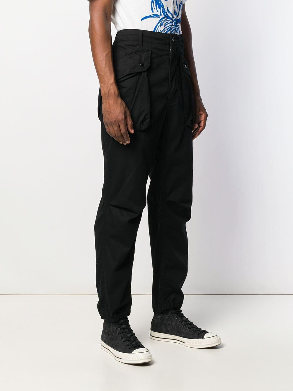 Engineered Garments Katoen Straight Broek in het Zwart voor heren
