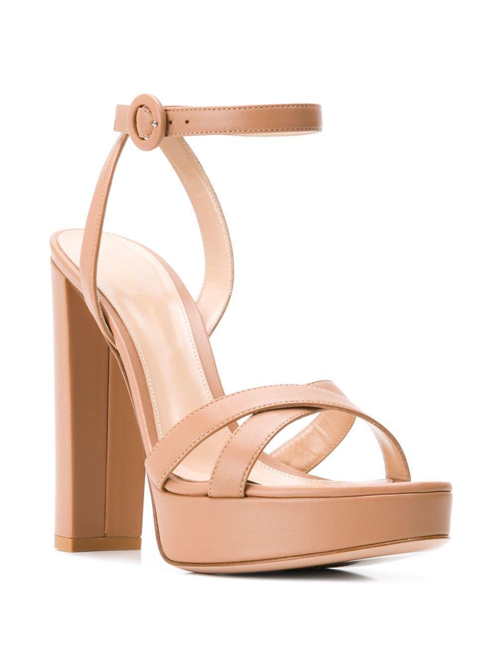 1dad8525042a Lyst - Gianvito Rossi Poppy Platform Sandals - Save 3%