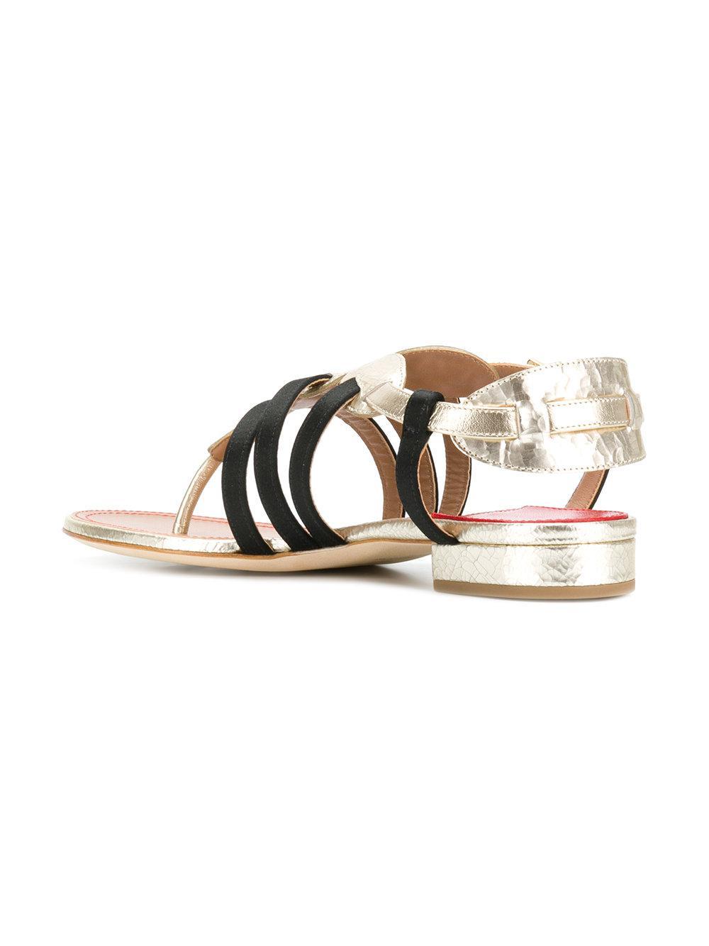 Renin sandals - Metallic Laurence Dacade IYB7cwHO