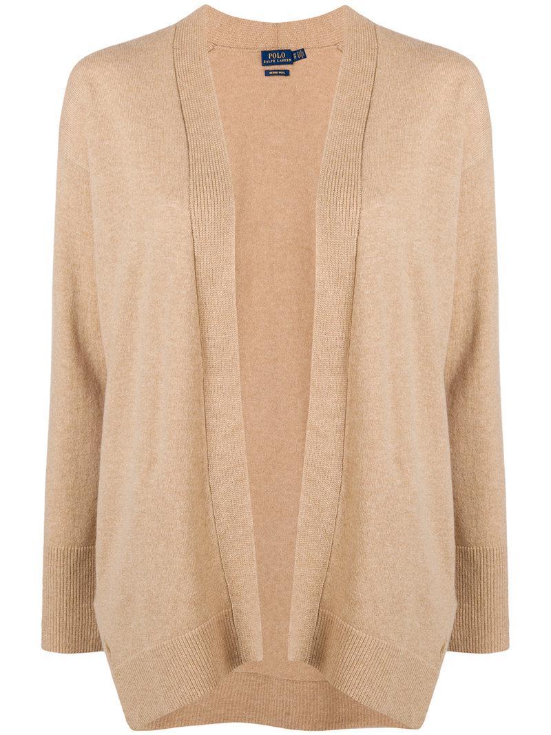 Polo Ralph Lauren draped fitted cardigan Cheap Find Great TKCGmD