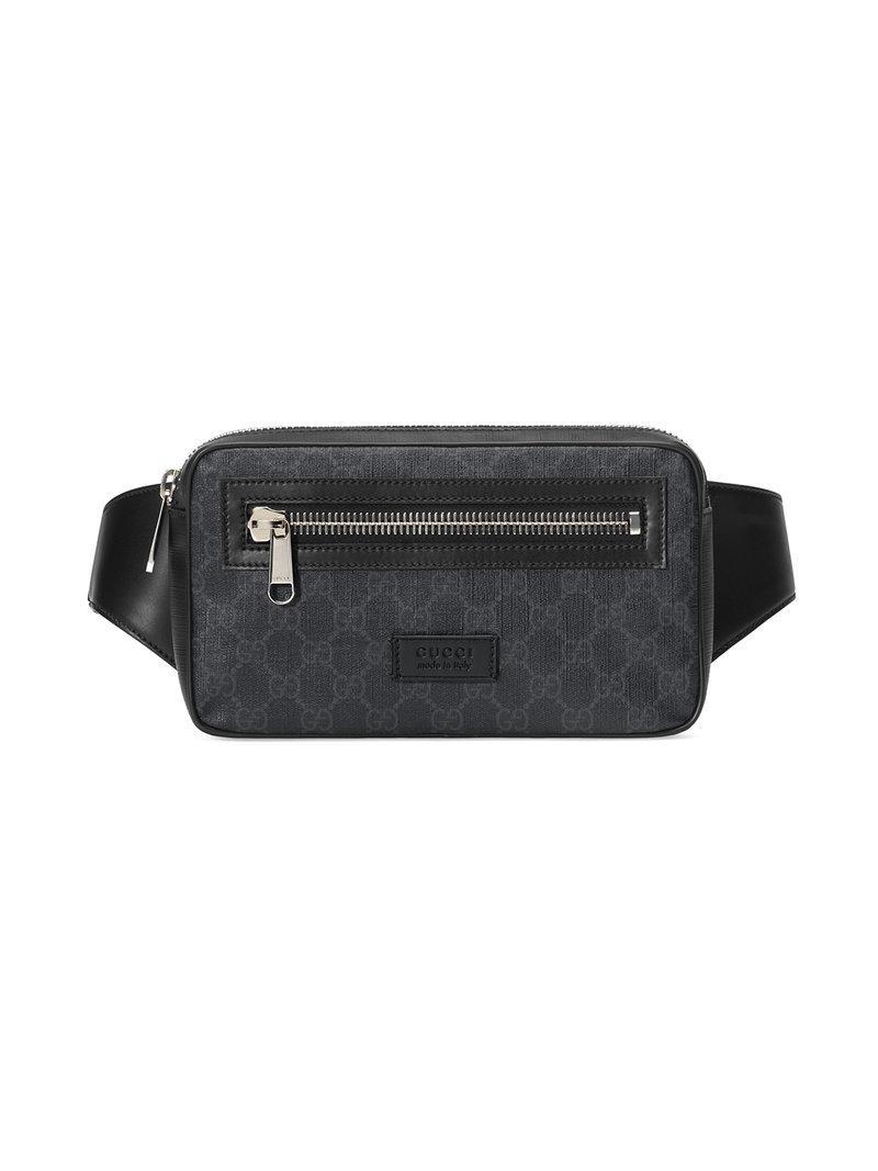9114129a57f Lyst - Sac ceinture en toile suprême GG souple Gucci pour homme en ...
