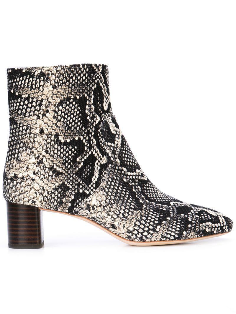 3e8329971eaf Lyst - Loeffler Randall Gema Ankle Boots in Black