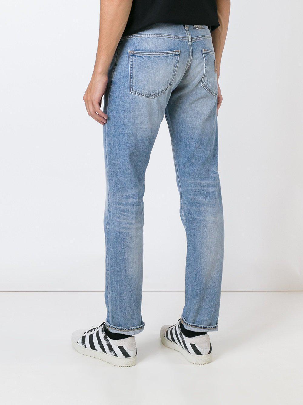 Carhartt Denim Straight Jeans in Blue for Men