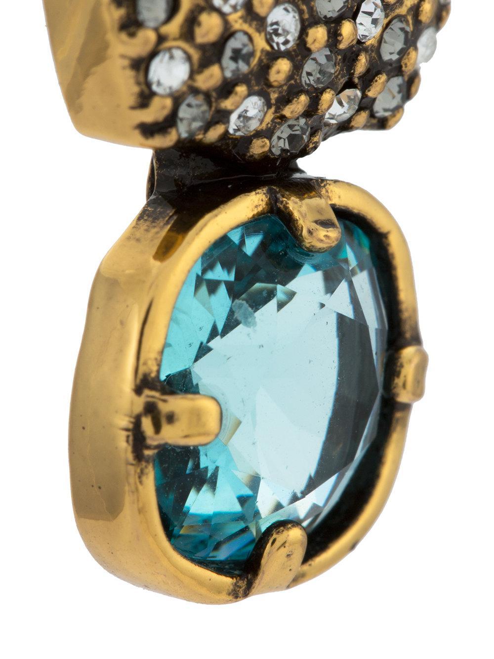 Camila Klein Indicolite earrings - Metallic bhCkFJCy