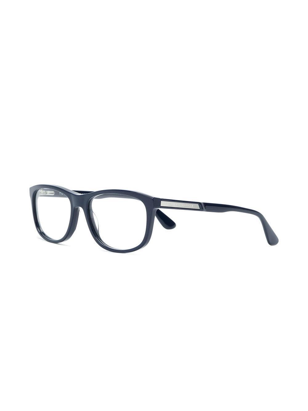 045170e591afb Lyst - Lunettes de vue à monture carrée Tommy Hilfiger pour homme en coloris  Bleu