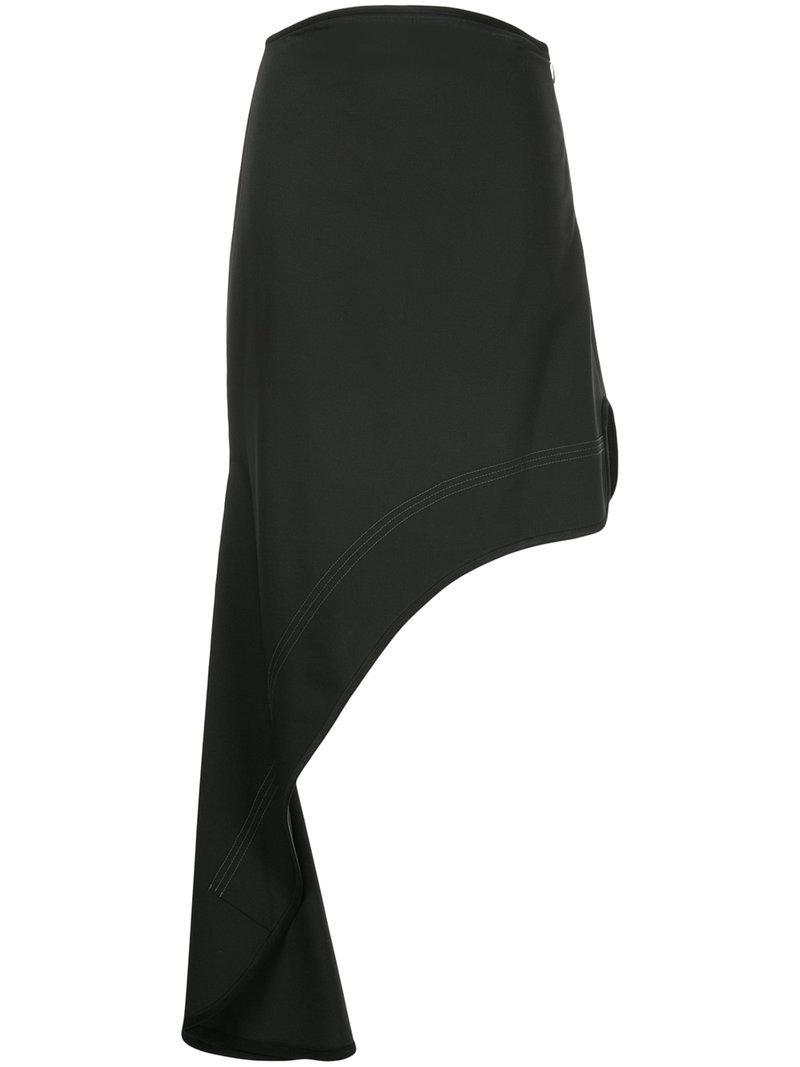 Ellery Minimalism asymmetric skirt Finishline Cheap Price Perfect Sale Great Deals tsJQgJUV