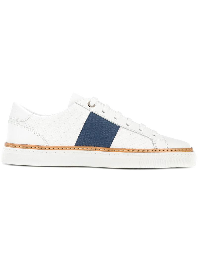 low-top sneakers - Blue Canali cqkKHUD7vy