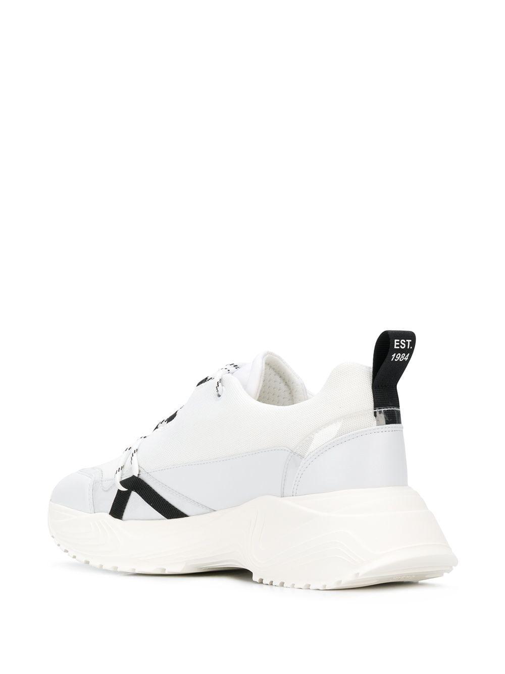 Zapatillas Deportivas de Mujer Philosophy Di Lorenzo Serafini de Cuero de color Blanco