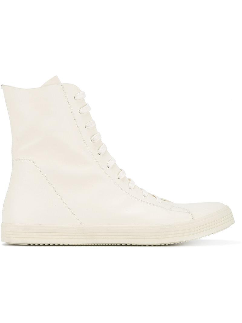 classic lace-up sneakers - Nude & Neutrals Rick Owens D49fWwL