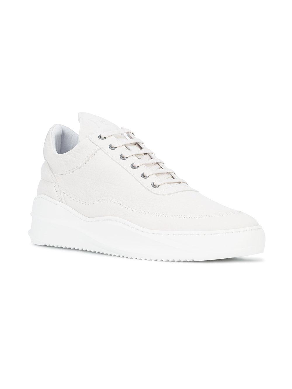 8755579b64efe5 Lyst - Filling Pieces Platform Sole Sneakers in White