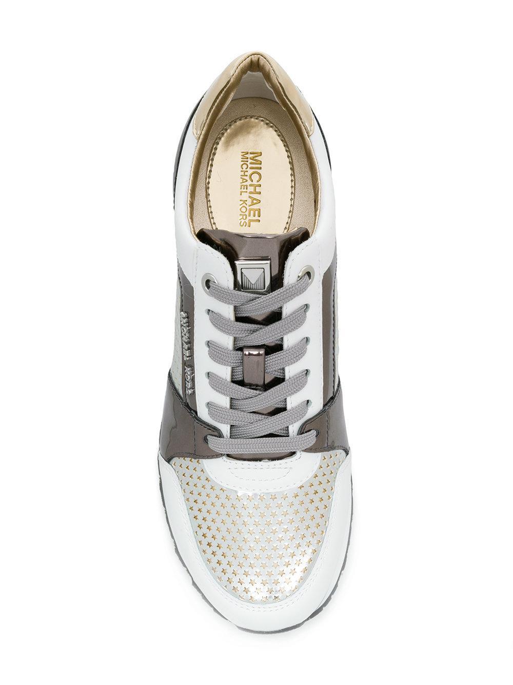 MICHAEL Michael Kors Cotton Billie Sneakers in White