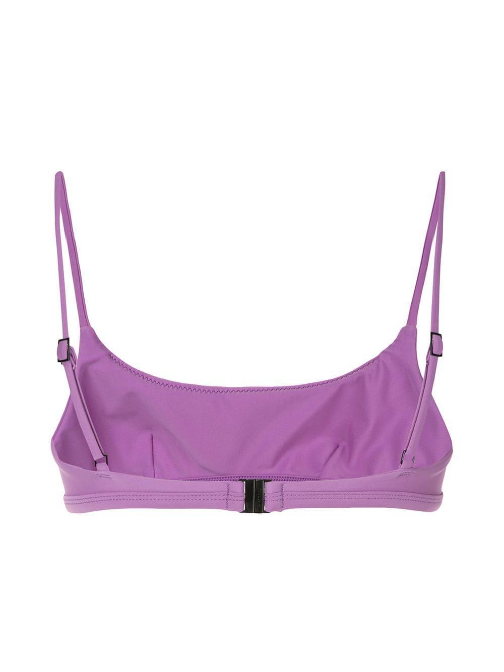 75e3c7ef0fb14 Matteau - Purple The Crop Bikini Top - Lyst. View fullscreen