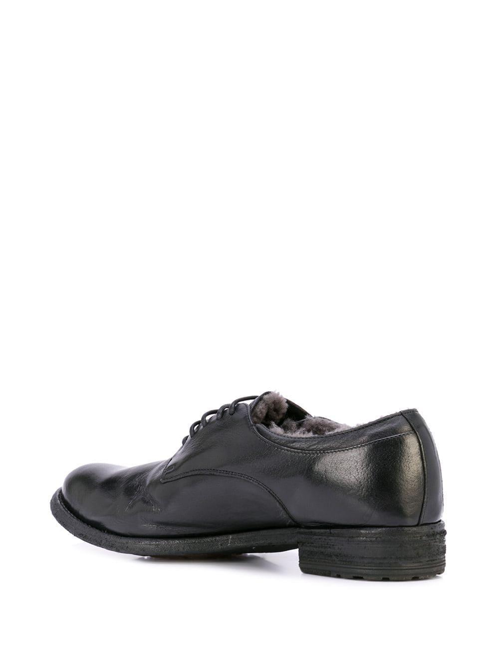 Zapatos Lexikon 102 con cordones Officine Creative de Cuero de color Negro