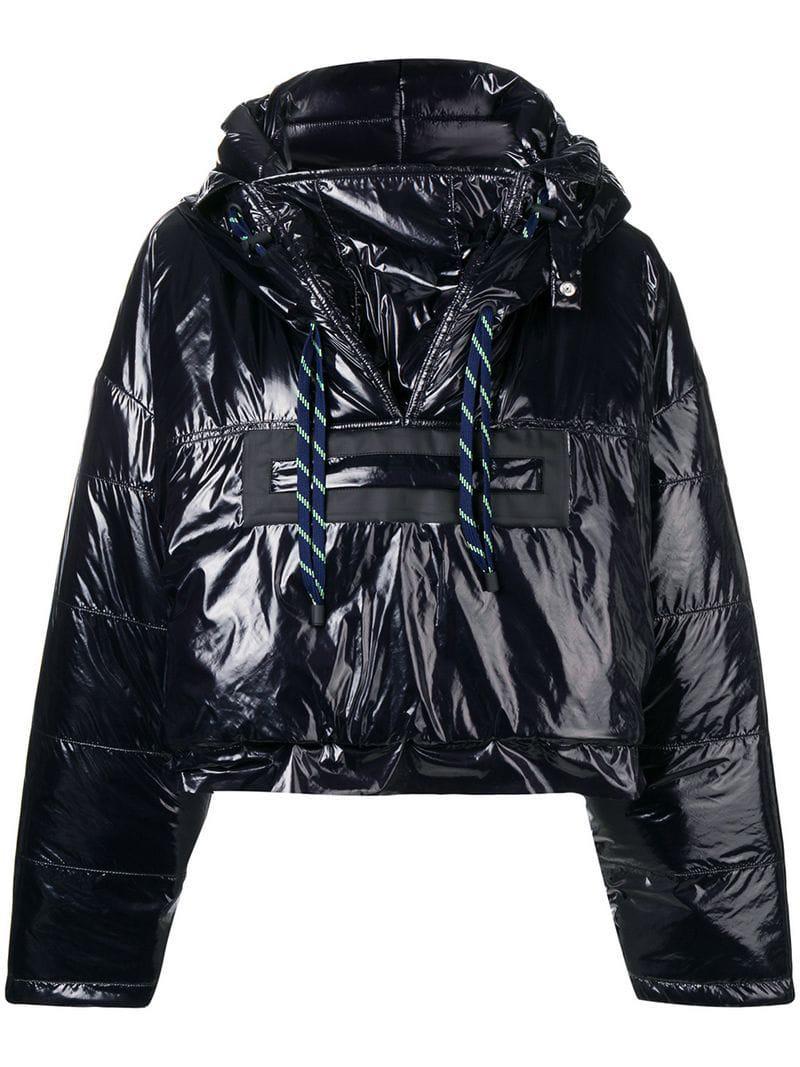 d0f2ee555c Lyst - Maison Margiela Cropped Padded Jacket in Black