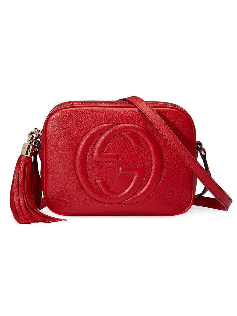 3fc93ef0528 Gucci Soho Small Leather Disco Bag in Metallic - Save 33% - Lyst