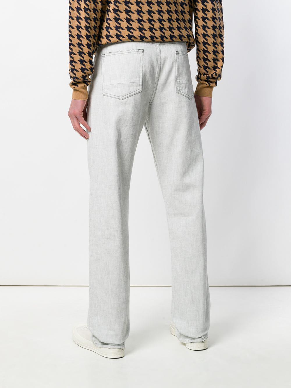 Natural Selection Denim Jeans Met Rechte Pijpen in het Grijs voor heren