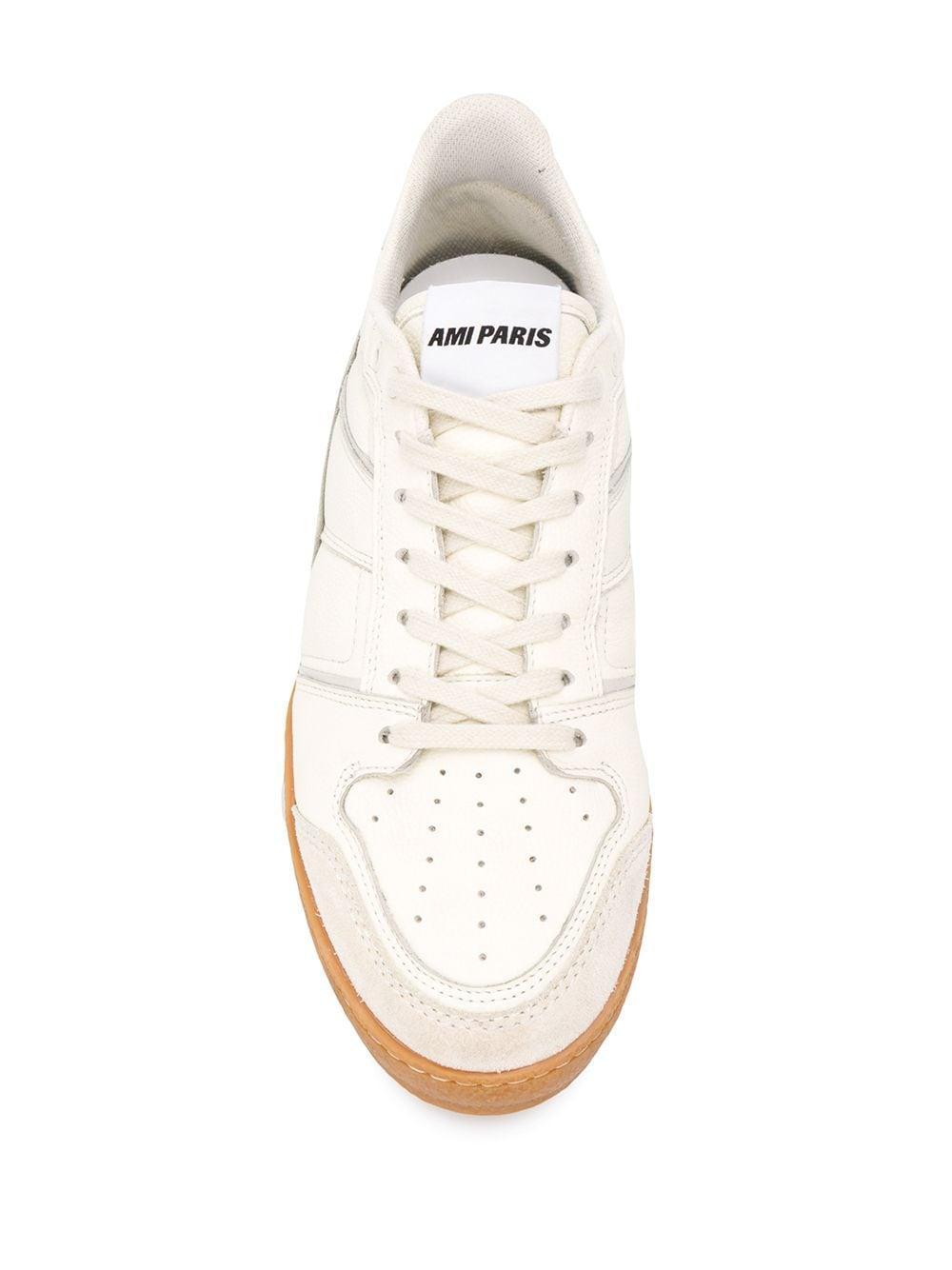 AMI Low-top Sneakers in het Wit voor heren