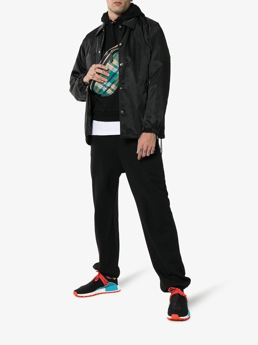 dc78f6096 Lyst - adidas X Pharrell Williams Black Human Body Nmd Sneakers in Black  for Men