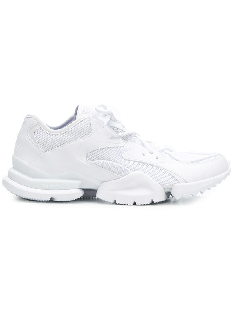 Reebok White Run R.96 Sneakers in White for Men - Save 32% - Lyst a866b8c1e