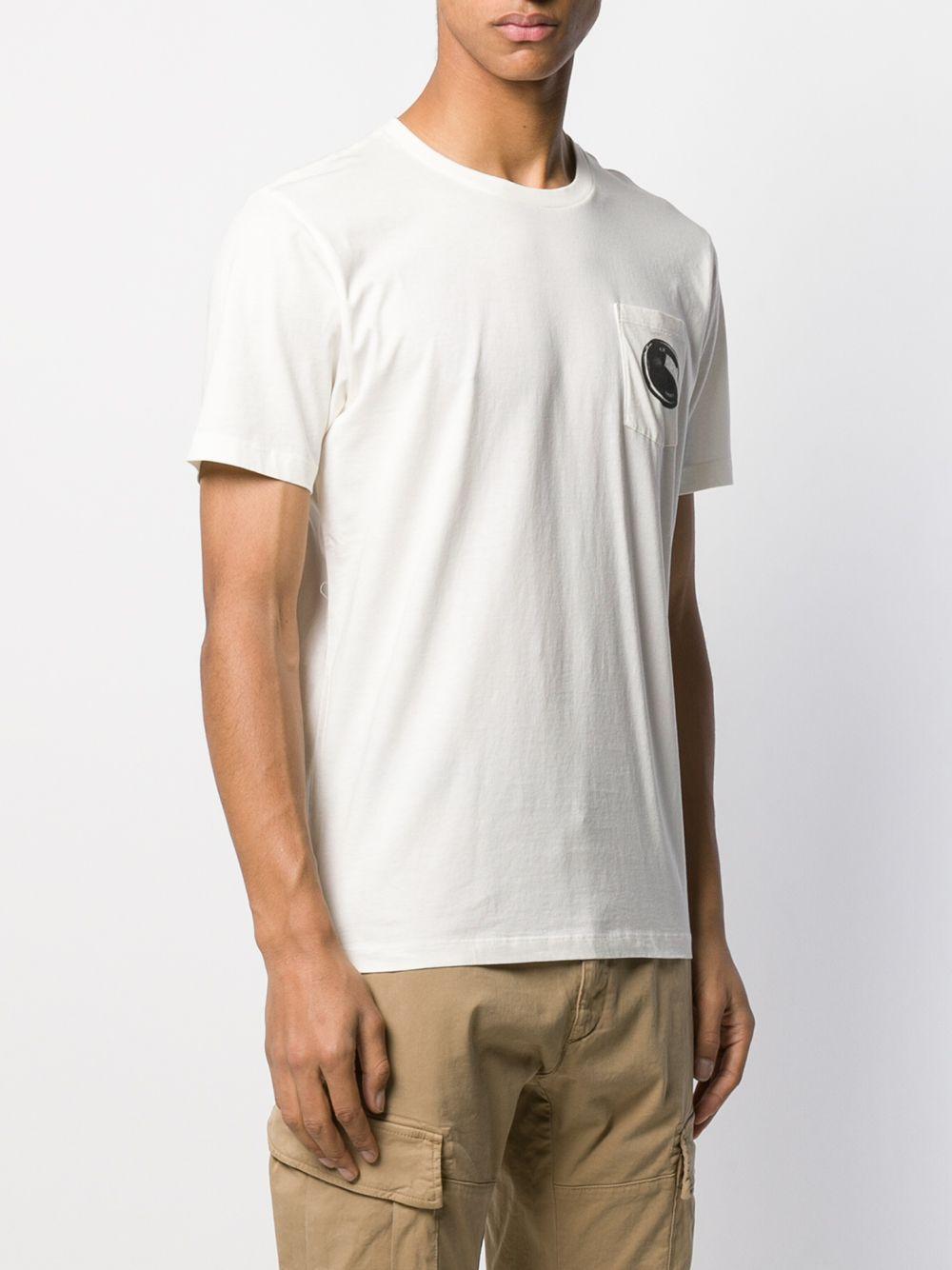 C P Company T-shirt Met Print in het Wit voor heren