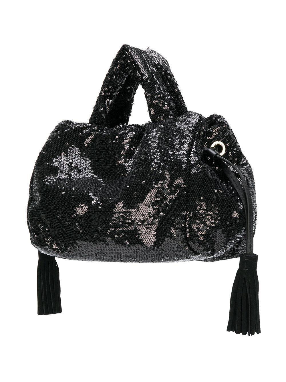 825e2a47cb Sac cabas à sequins Sonia Rykiel en coloris Noir - Lyst