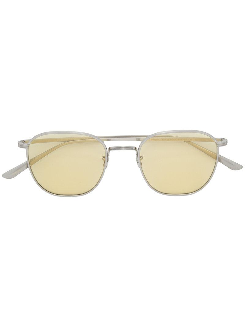 cc468dc63d1 Oliver Peoples Board Meeting 2 Sunglasses in Metallic for Men - Lyst