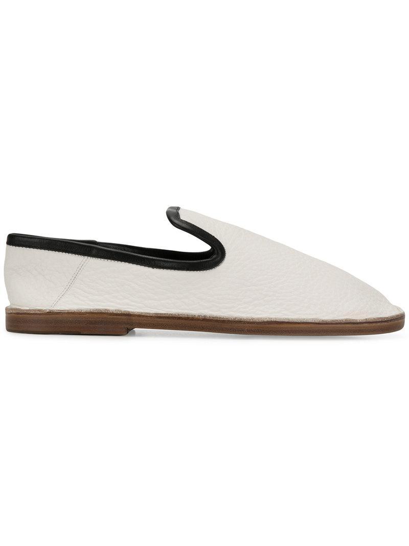 smooth slip-on loafers - White Joseph jATmbH5ol