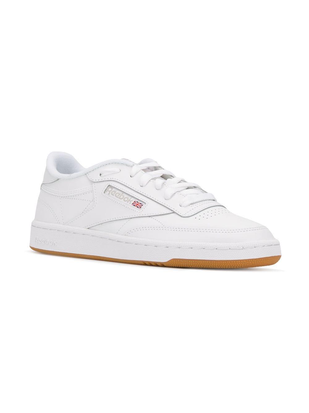 Reebok - White Club C 85 Sneakers for Men - Lyst. View fullscreen 13876c96f