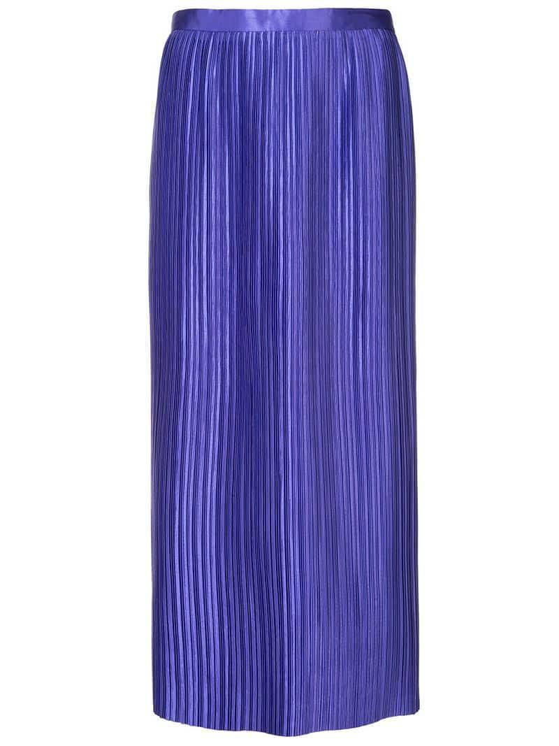 4d4fd05f50 Tibi Plisse Pleated Skirt in Purple - Lyst
