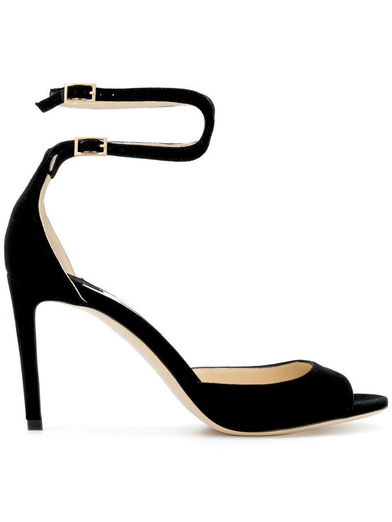 6ae5a40af6ec Lyst - Jimmy Choo Lane Sandals in Black