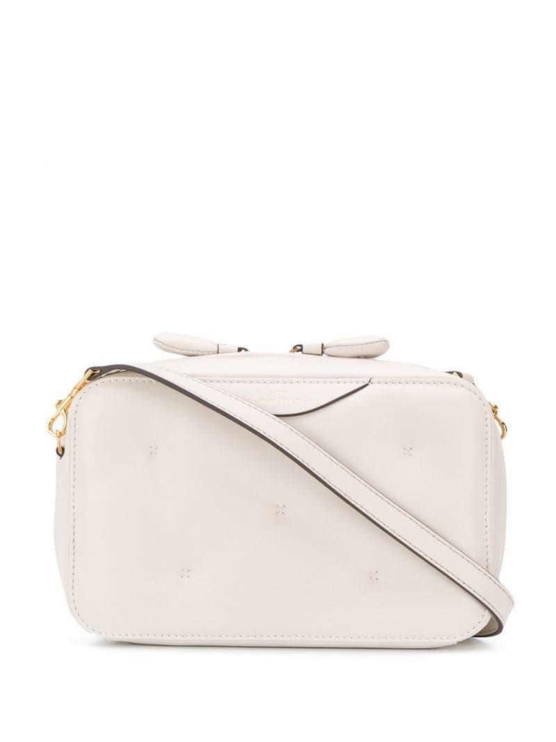 b8fd6a2f2 Anya Hindmarch Chubby Crossbody Bag in White - Lyst