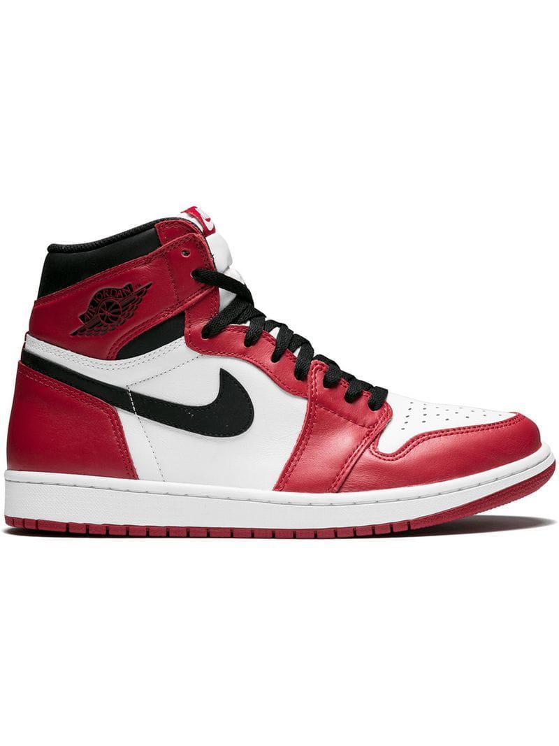 2dfb9e51d1f6 Lyst - Nike Air 1 Retro High Og Sneakers in White for Men