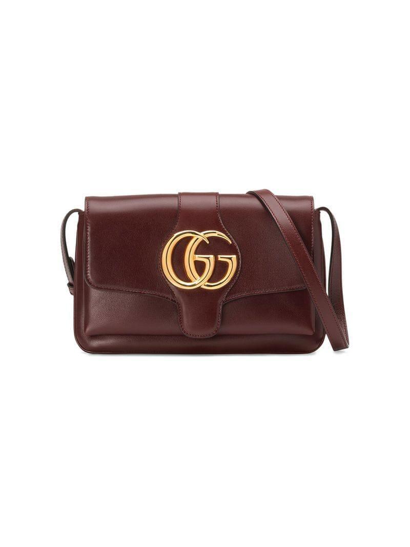 Lyst - Gucci Arli Small Shoulder Bag in Red f874a72f21652
