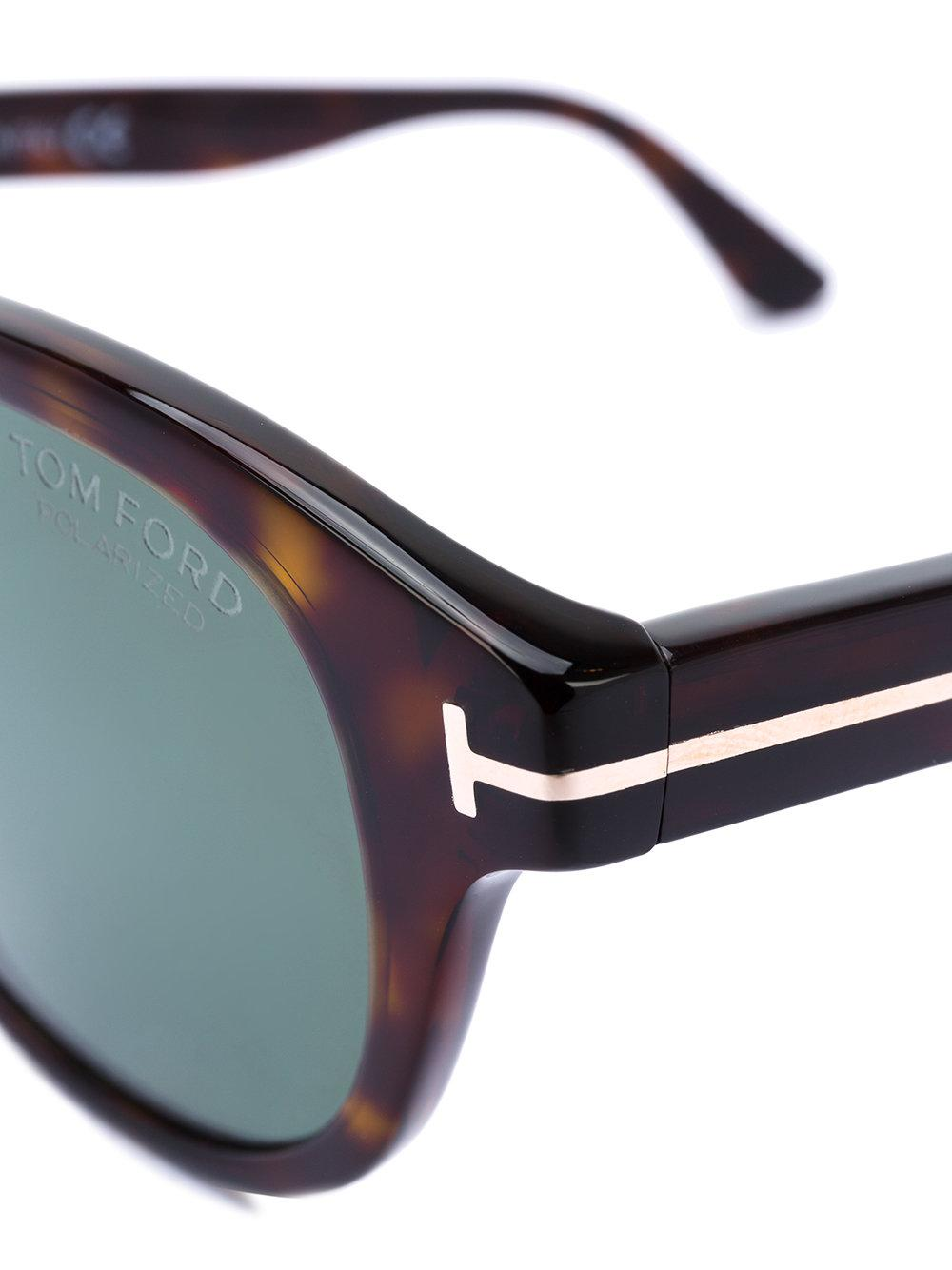 Tom Ford Von Bulow Sunglasses in Brown