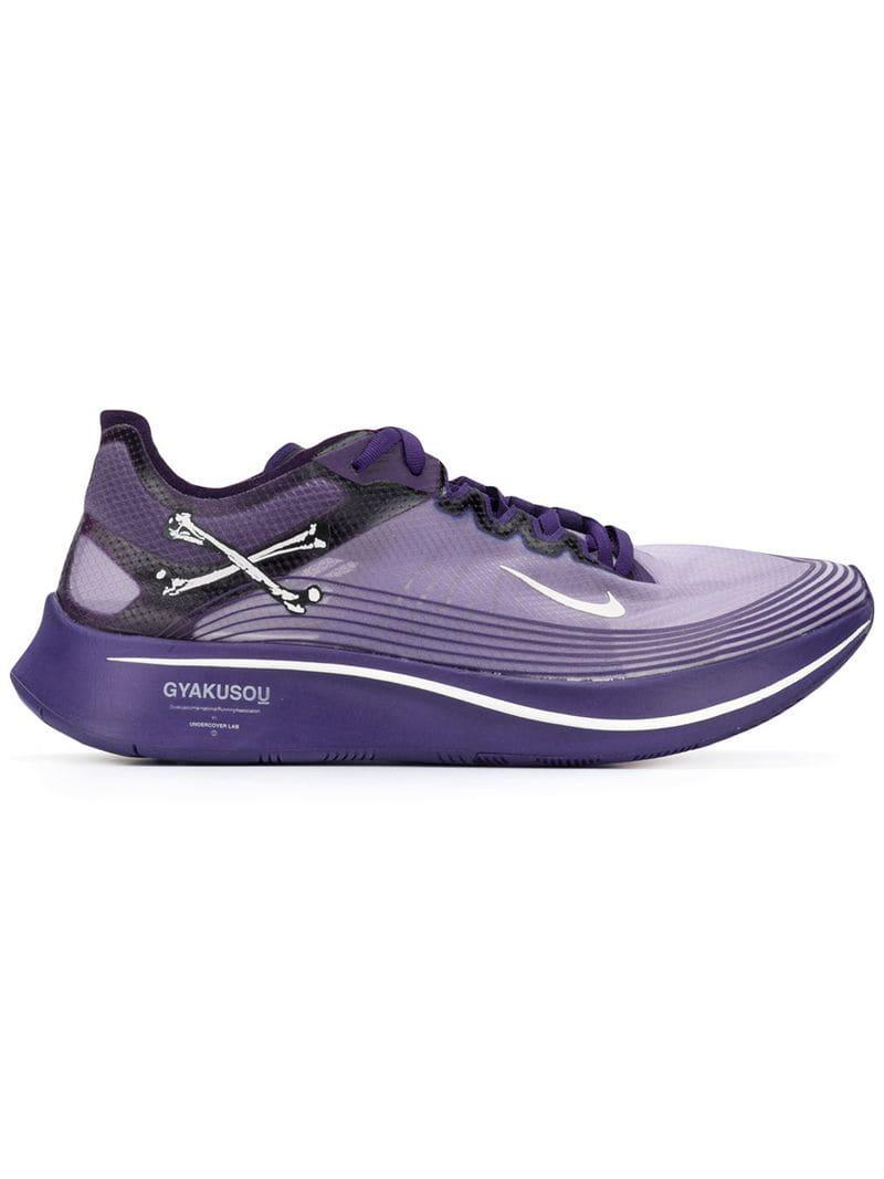 4877e1e9dc571 Lyst - Nike X Undercover Gyakusou Zoom Fly Sp Sneakers in Purple for ...