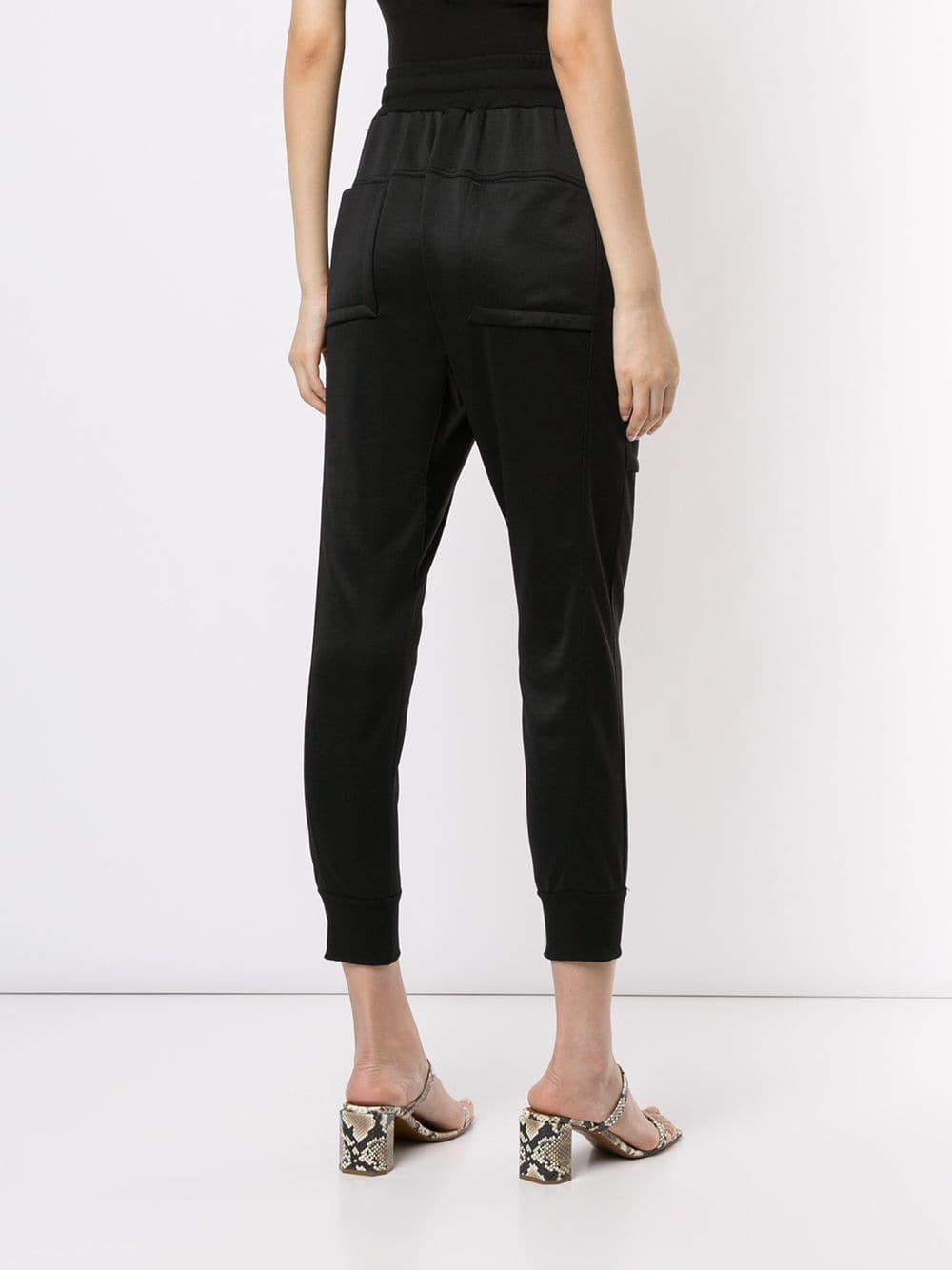 Pantalones capri tipo cargo Manning Cartell de color Negro