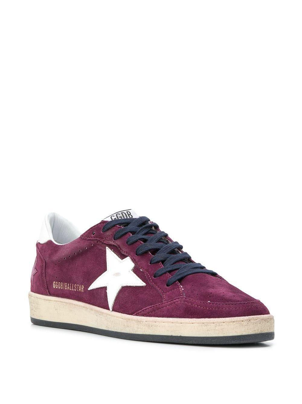 Golden Goose Deluxe Brand Ganzendons Superstar Sneakers in het Roze voor heren