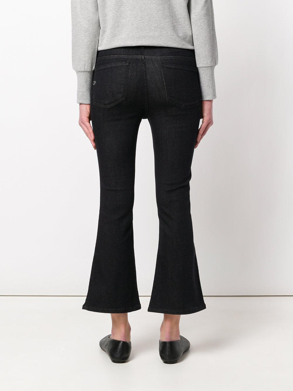 cropped flared jeans - Black Twin-Set T5mNC0P